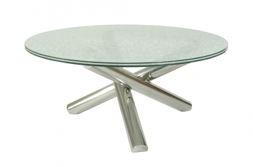 Gotham 60 Round Pedestal Dining Table