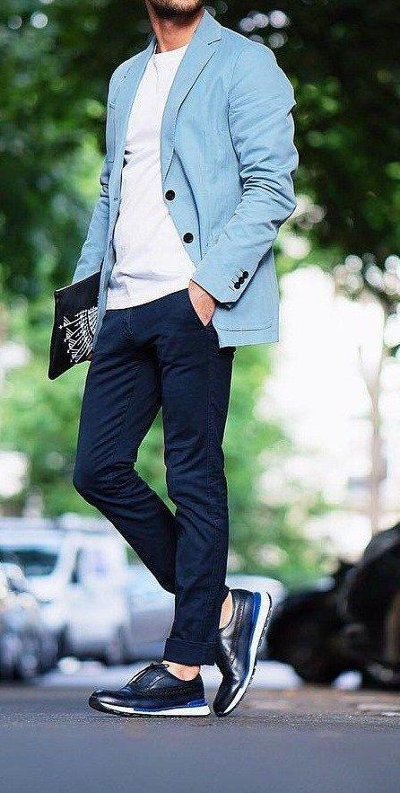 Not Bad fashion menswear outfits Denim sweater mens men shirt hoodie wear style fashstop tracksuit vans converse street fash stop jeans ripped jeans denim shirts jacket...