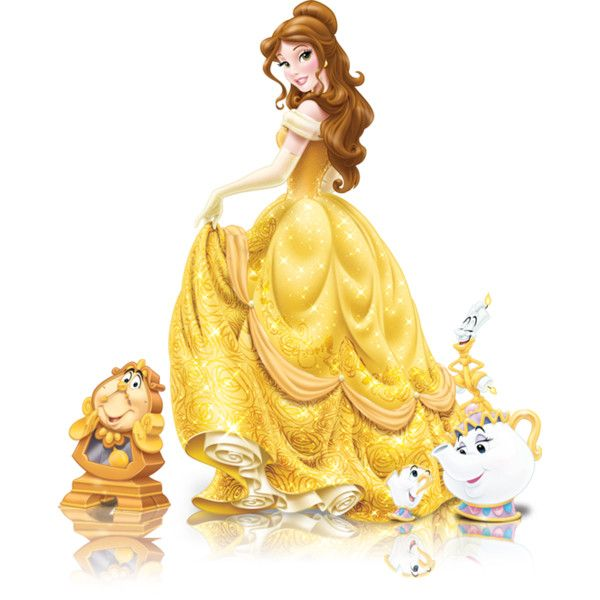 Disney's Beauty Beast Princess Belle Clipart 2 --> Disney-Clipart ...