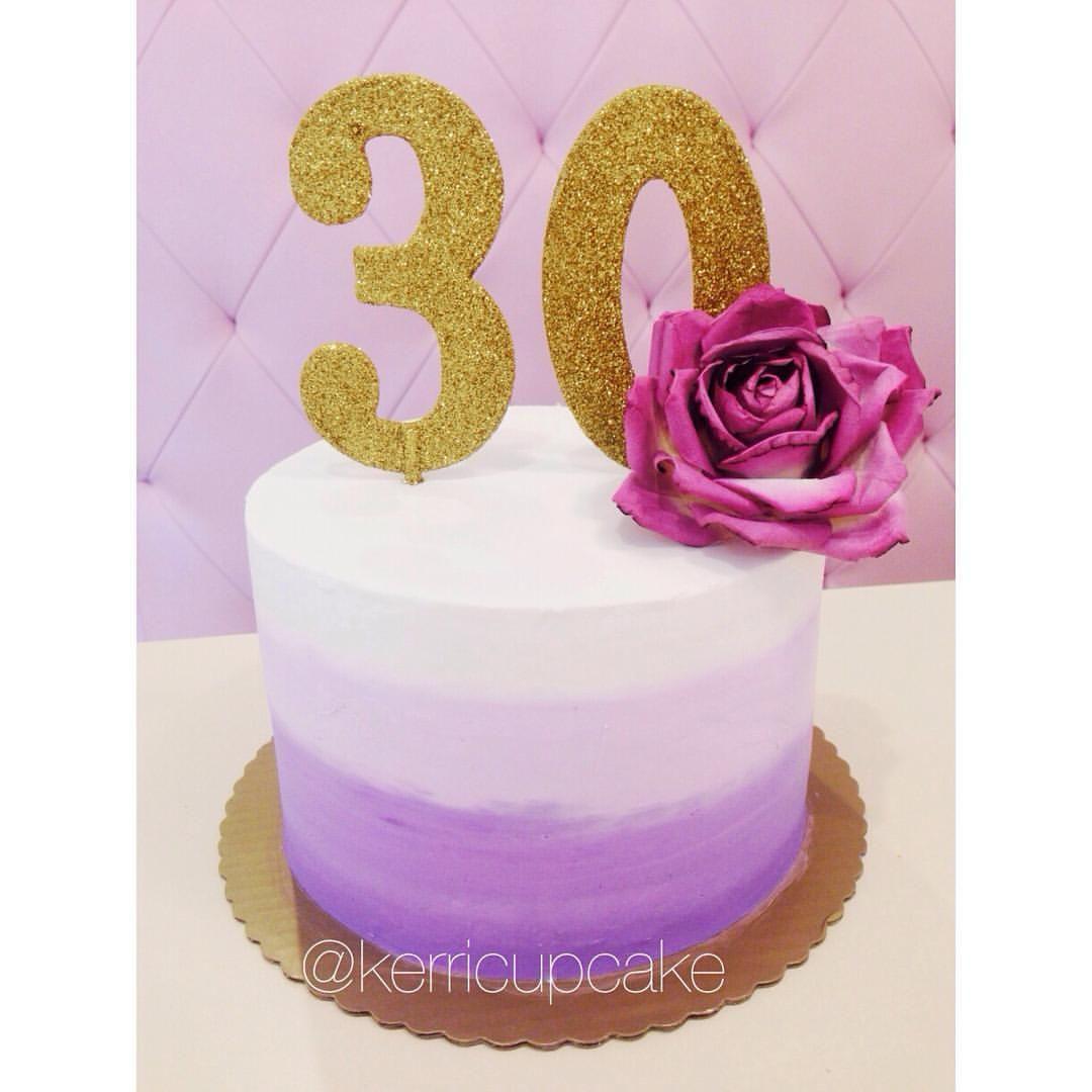 30th, 30 Birthday And Cake