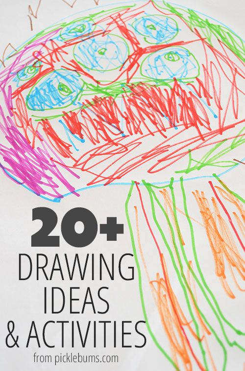 20 drawing ideas and activities from picklebumscom - Kids Free Drawing