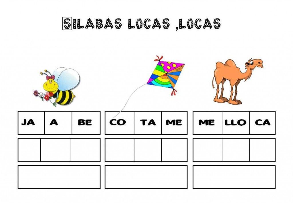 El Juego De Las Sílabas Locas Escuela En La Nube Education Bilingual Education Language