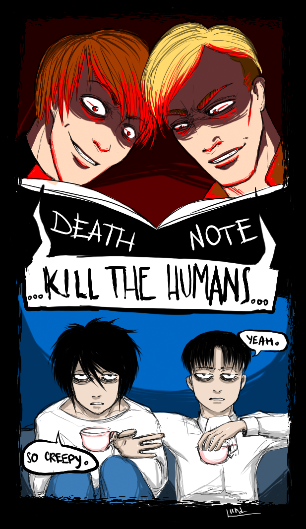 l x light yagami Tumblr Anime engraçado, Memes