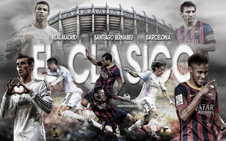 El Clasico Football Wallpaper Football Wallpapers Football