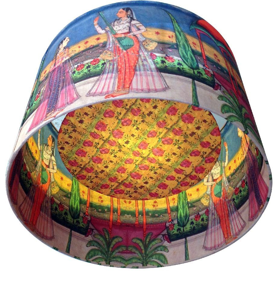 Interior design kerrie brown indian princess with lute lampshade interior design kerrie brown indian princess with lute lampshade aloadofball Image collections