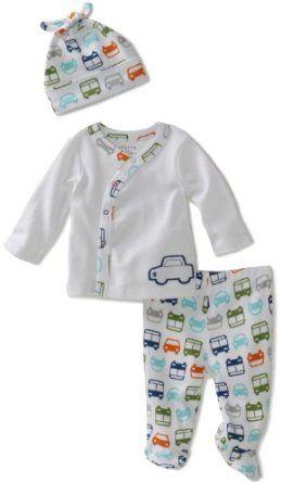 02917754148 Amazon.com  Offspring - Baby Boys Traffic 3 Piece Take Me Home Set   Clothing  28