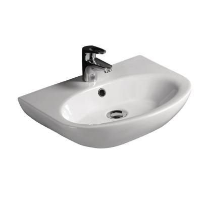 Barclay Products Infinity Wall Hung Bathroom Sink In White In 2019