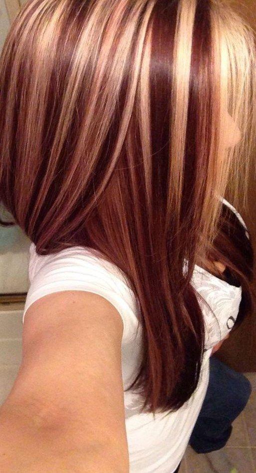 Photo de couleur de meche de cheveux