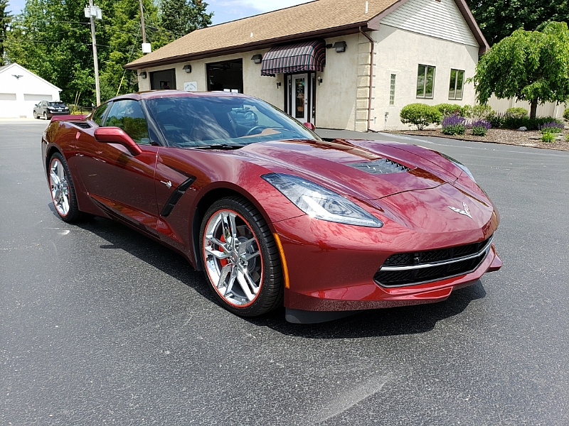 2019 Long Beach Red Chevy Corvette Coupe (With images ...