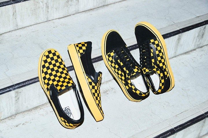 8889ab4fa12d64 VANS CHECKER PACK OLD SKOOL SLIP-ON