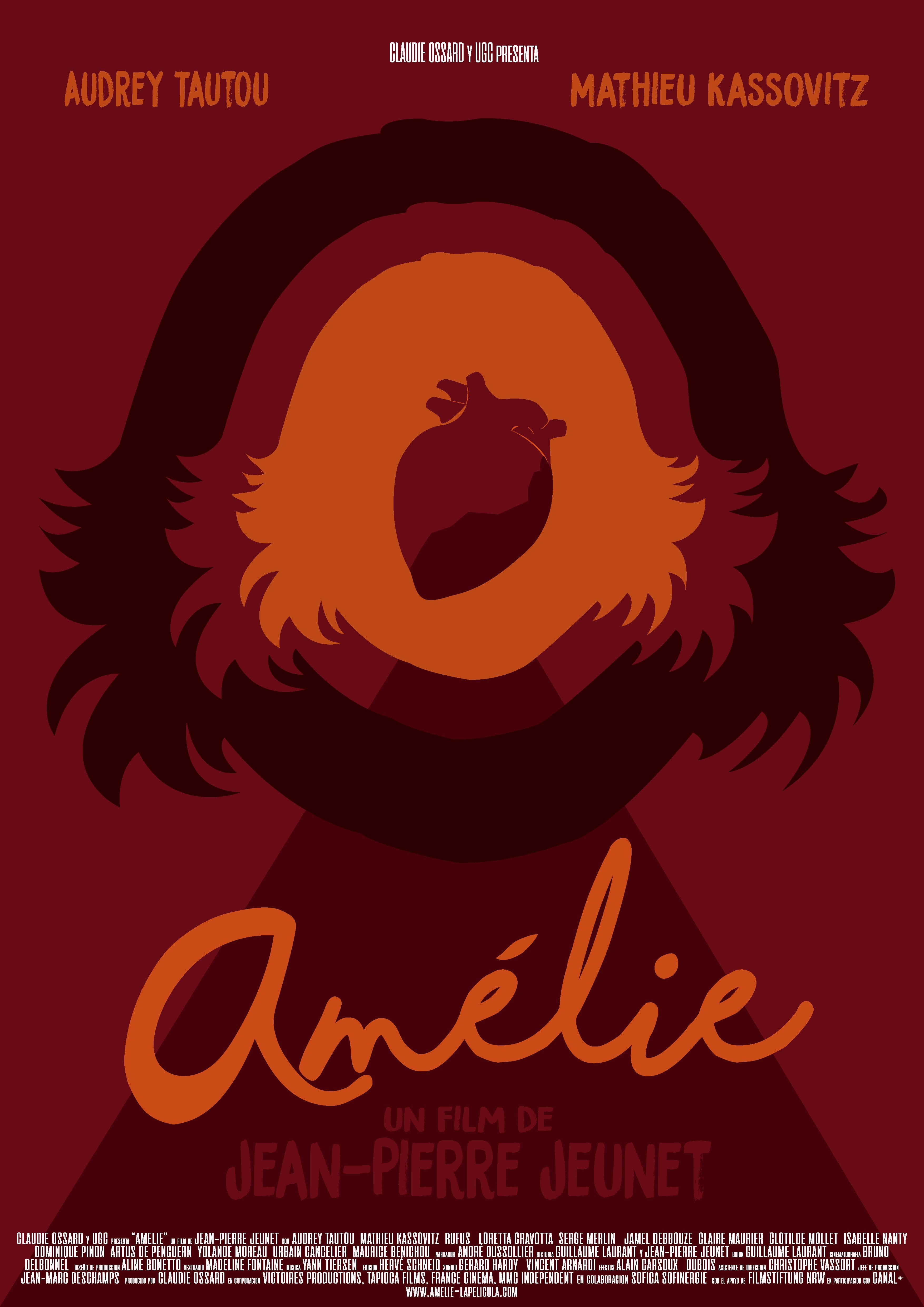 POSTER Amélie en Japonés