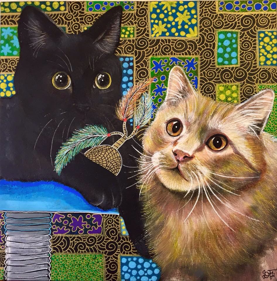 Acrylic on Canvas 30x30 Artist-Daniela Terragni
