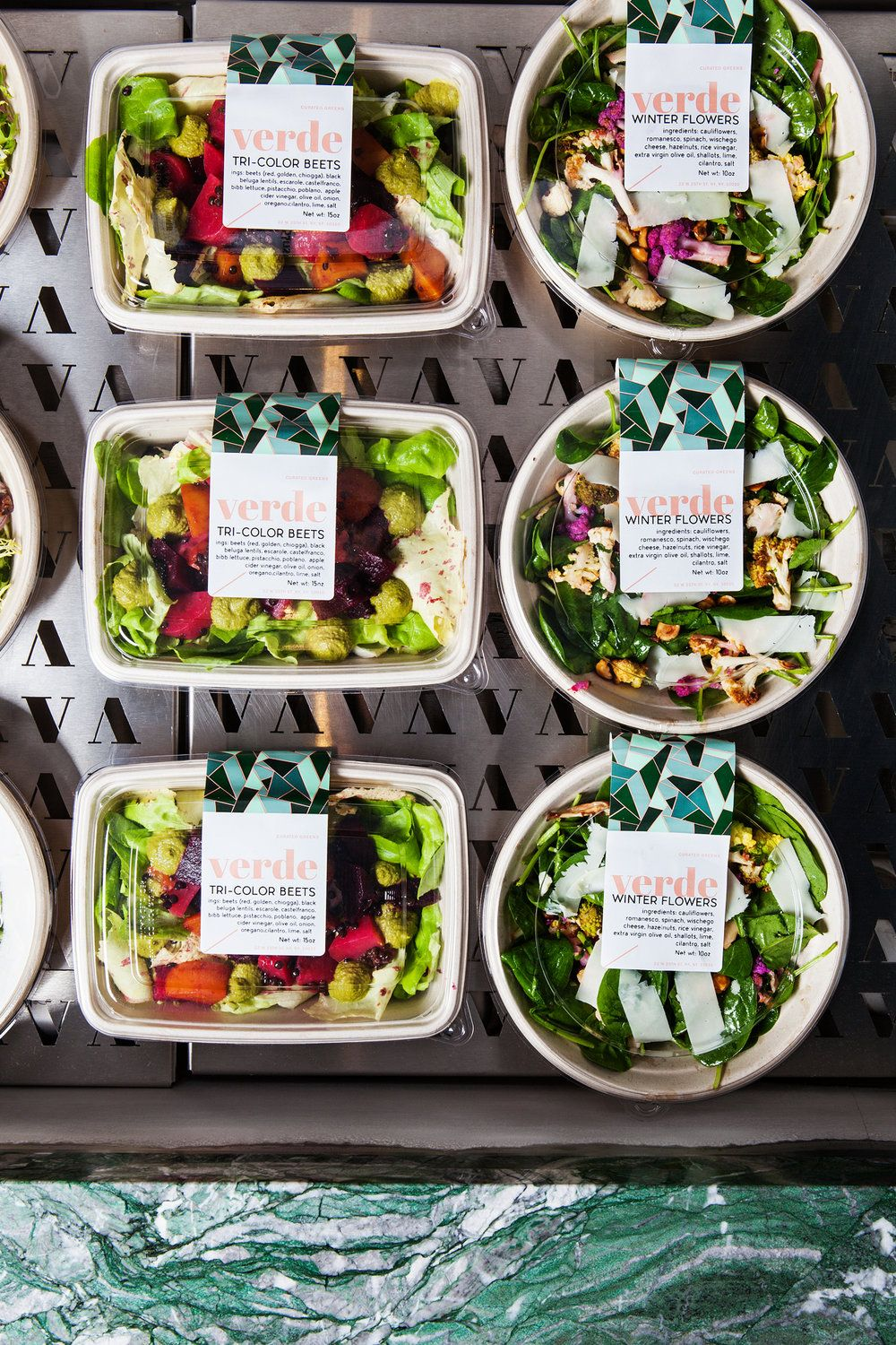 Verde New York The Mp Shift In 2020 Salad Packaging Food Packaging Design Food Delivery Packaging