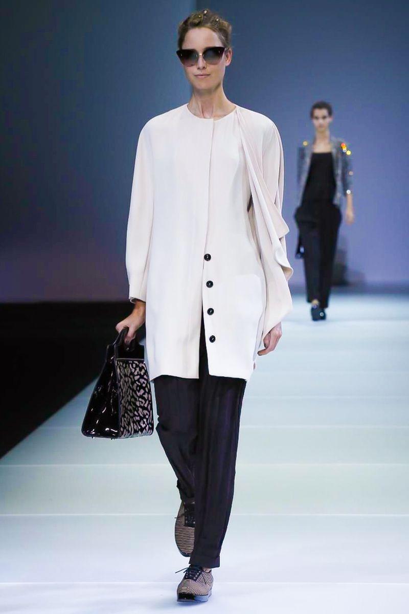 Giorgio @armani Ready-To-Wear Spring Summer 2015 #MFW