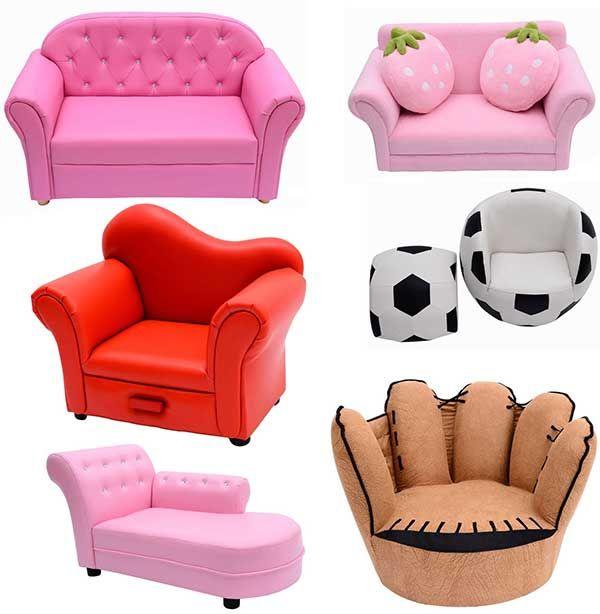 Sof s y sillones especiales para ni os sillones para for Sillones de dormitorio modernos