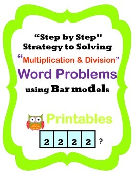 df3432c7b30dbbac1272442261e0c747 multiplication and division word problems using bar models bar