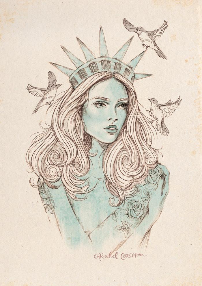 liberty.png   tattoo   Pinterest