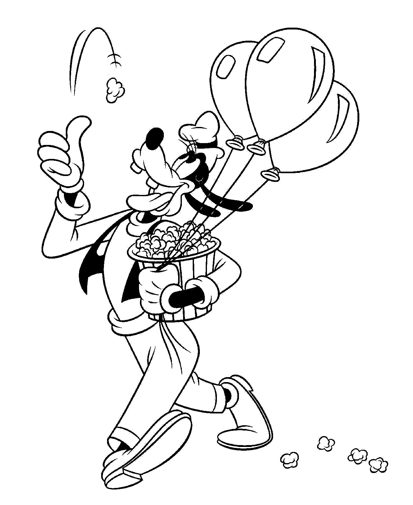 Goofy Run And Play Ball
