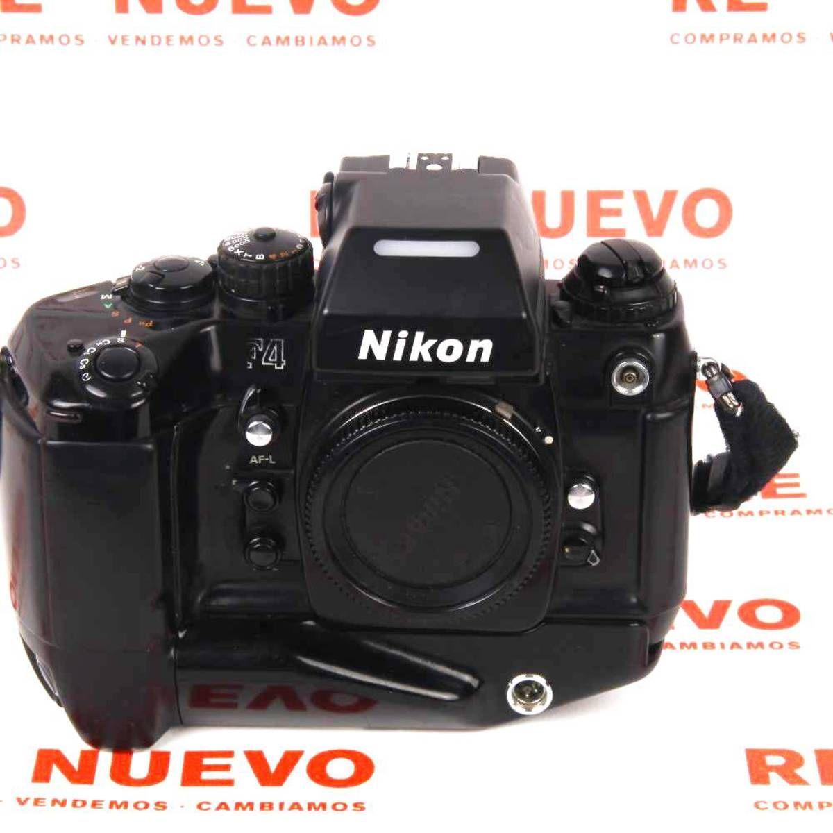 Cámara Réflex Analógica Nikon F4 Con Grip Mb21 E269022 De Segunda Mano Reflex Nikon F4 Segundamano Nikon Camara Reflex Tienda De Segunda Mano