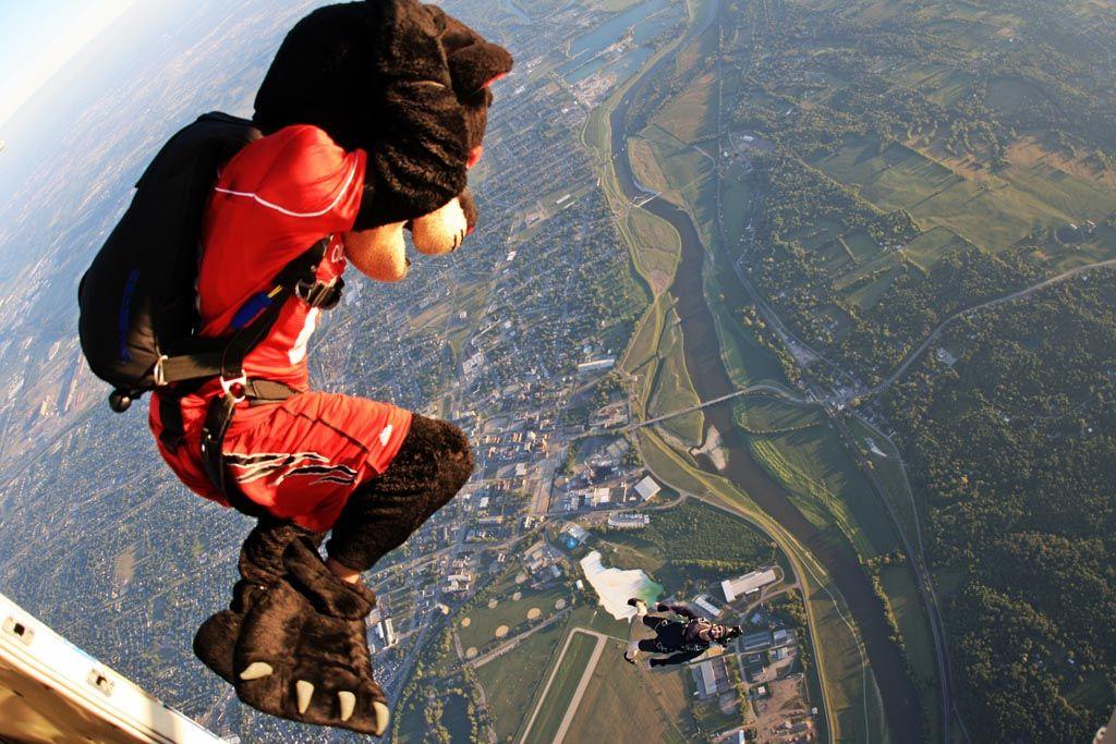 Cincinnati Bearcat Skydive   Demo Jumps   Cincinnati