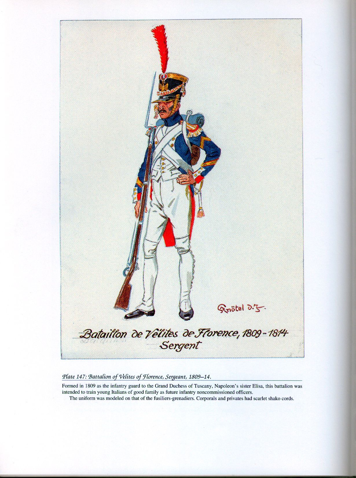 Napoleon recognized the struggle and named his ...