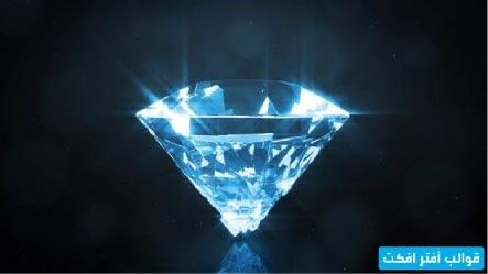 قالب افتر افكت انترو الجوهرة اللامعة Jewel Logo Martini Glass Glassware