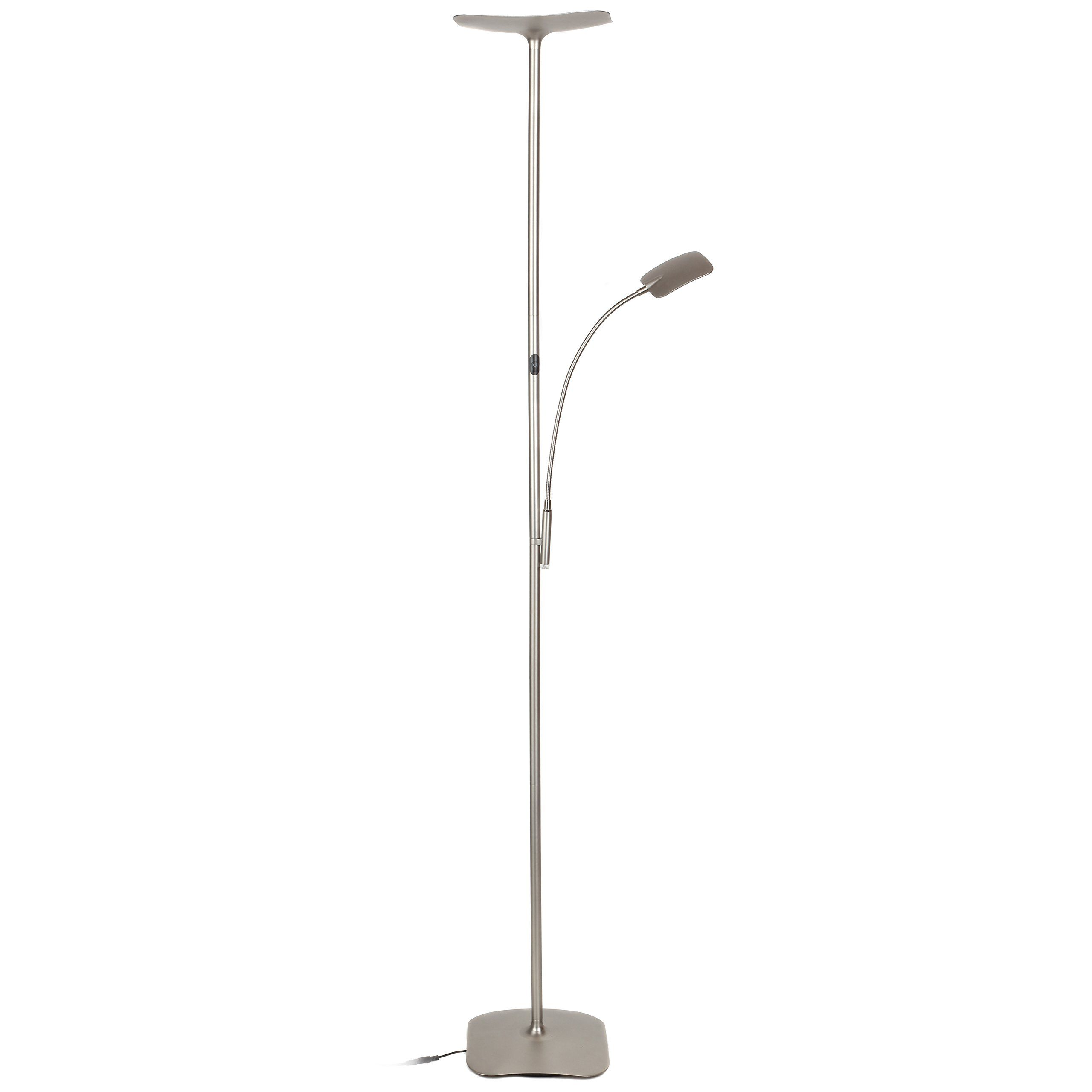 sculpta lamp dimmable floor ebay itm aluminum inch led