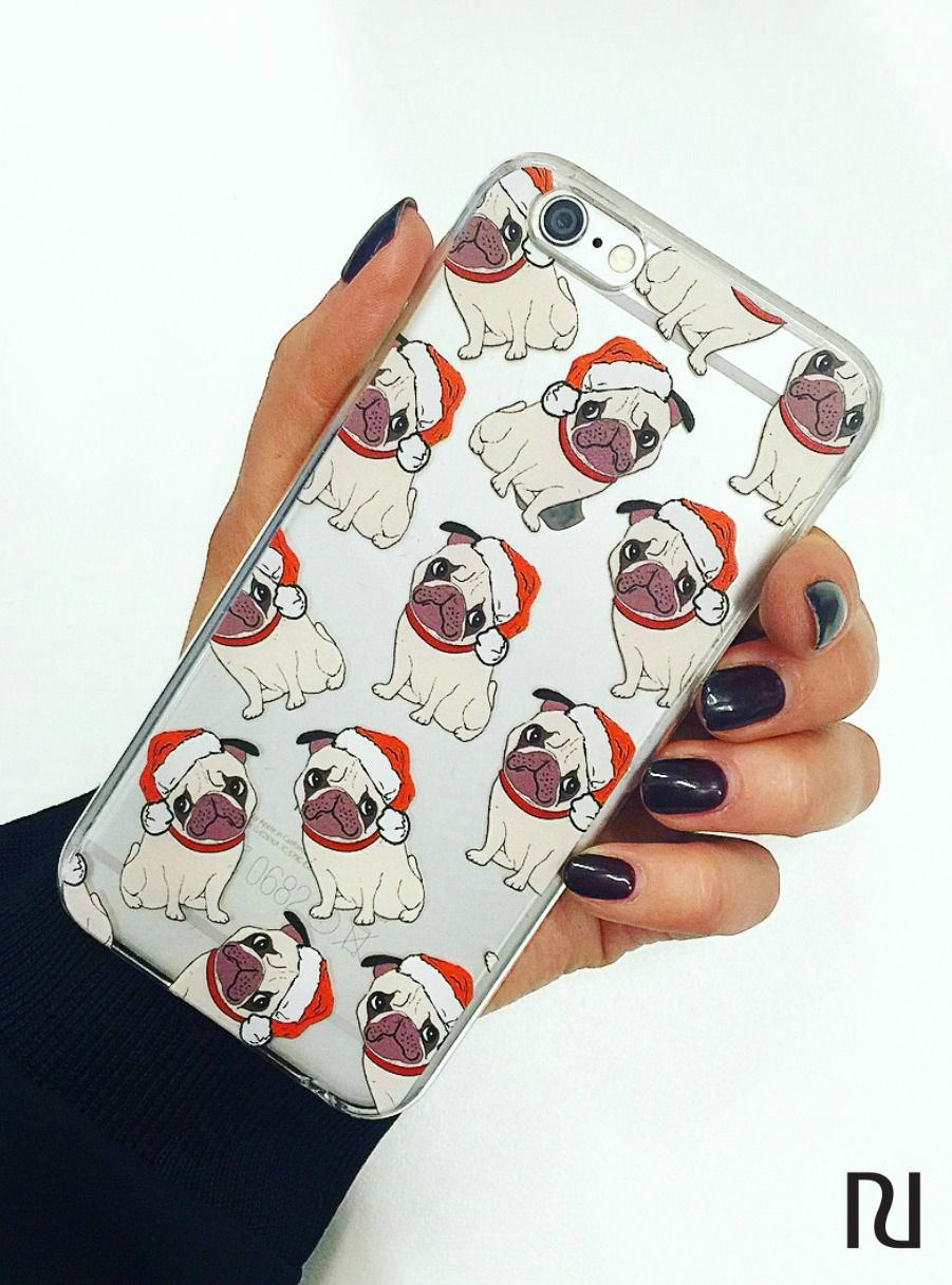 a dog is for life not jsut for christmas with this cute pug