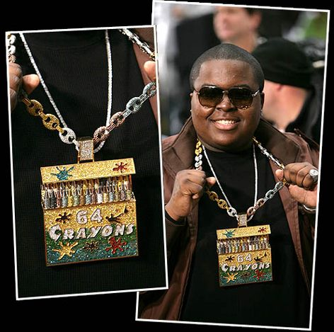 Sean Kingston S 500k Crayola Chain Top 10 Outrageously