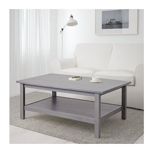 Hemnes Coffee Table Dark Gray Gray Stained 46 1 2x29 1 2