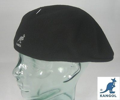 Kangol wool 504  flatcap  black wool hat cap pepe  kangol cap  kangol eb9248733d95