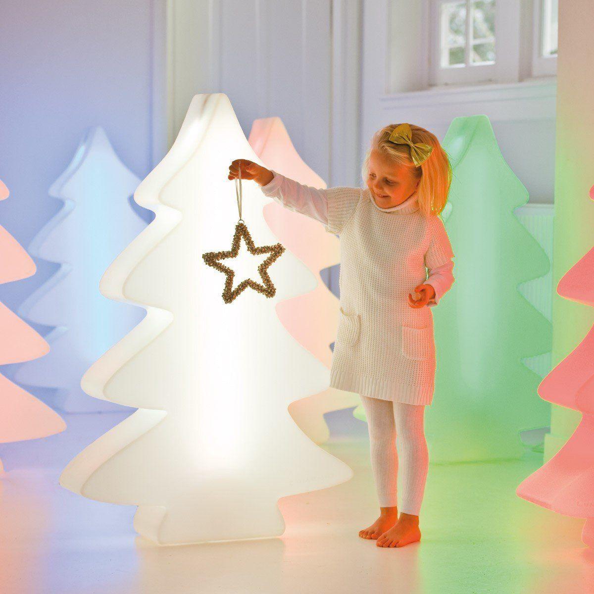 Lumenio LED mini - beleuchteter Weihnachtsbaum in 15 LED-Farben ...