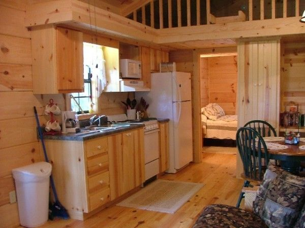 Tiny Cabin Kitchen Interior  I Could Do This But Iu0027d Have To Have