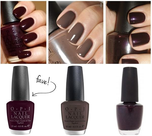 Fall Nail Colors 2016 Designs Trends Winter