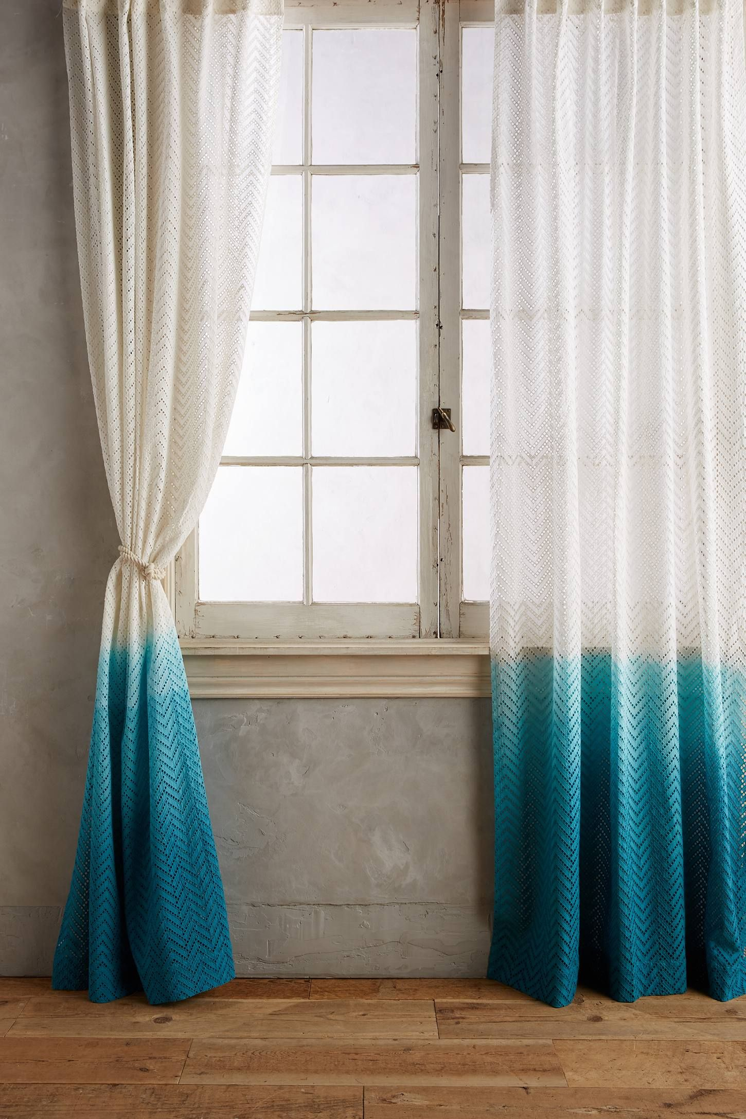 Ombre Horizon Curtain With Images Curtains Living Room Diy