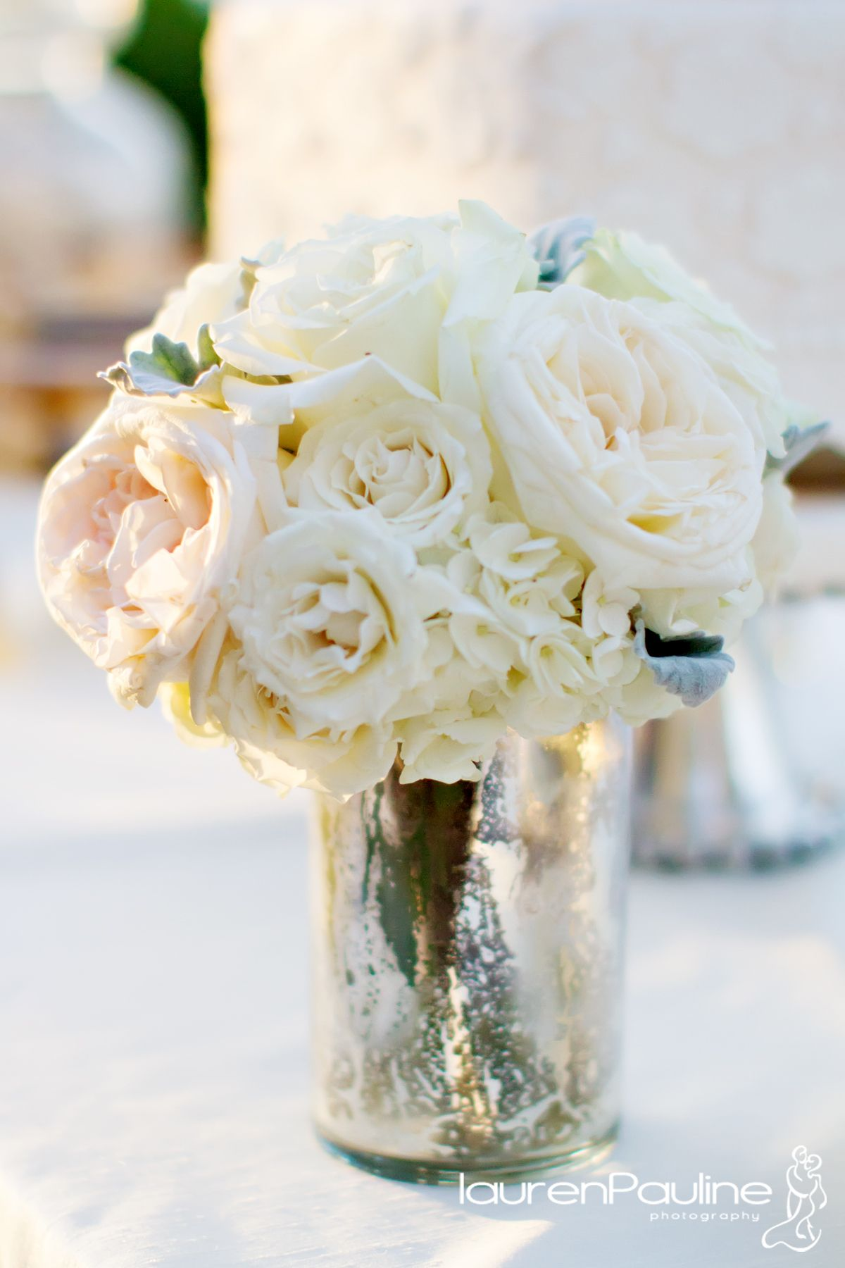 roses in mercury glass | mercury-glass-centerpieces | Home ...