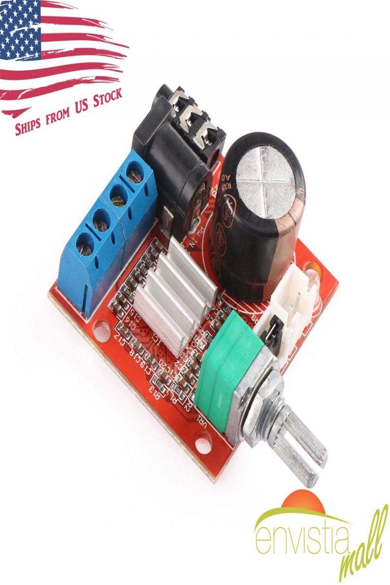 698 Pam8610 Mini 10w Stereo Audio Power Amplifier Board Circuit Buy Amplifieraudio Module W Volume Control