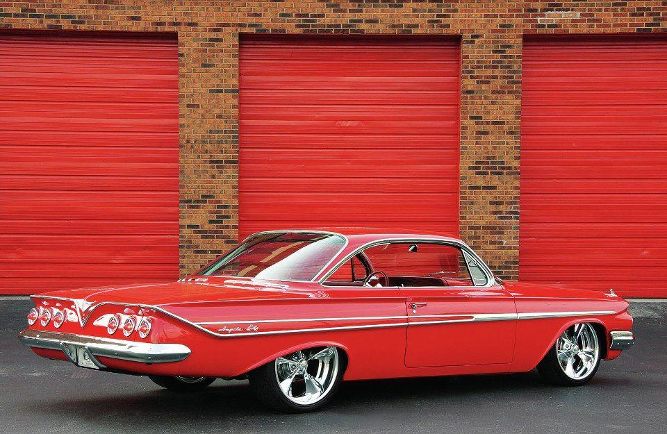 Nice '61 Chevy Impala Bubble Top.