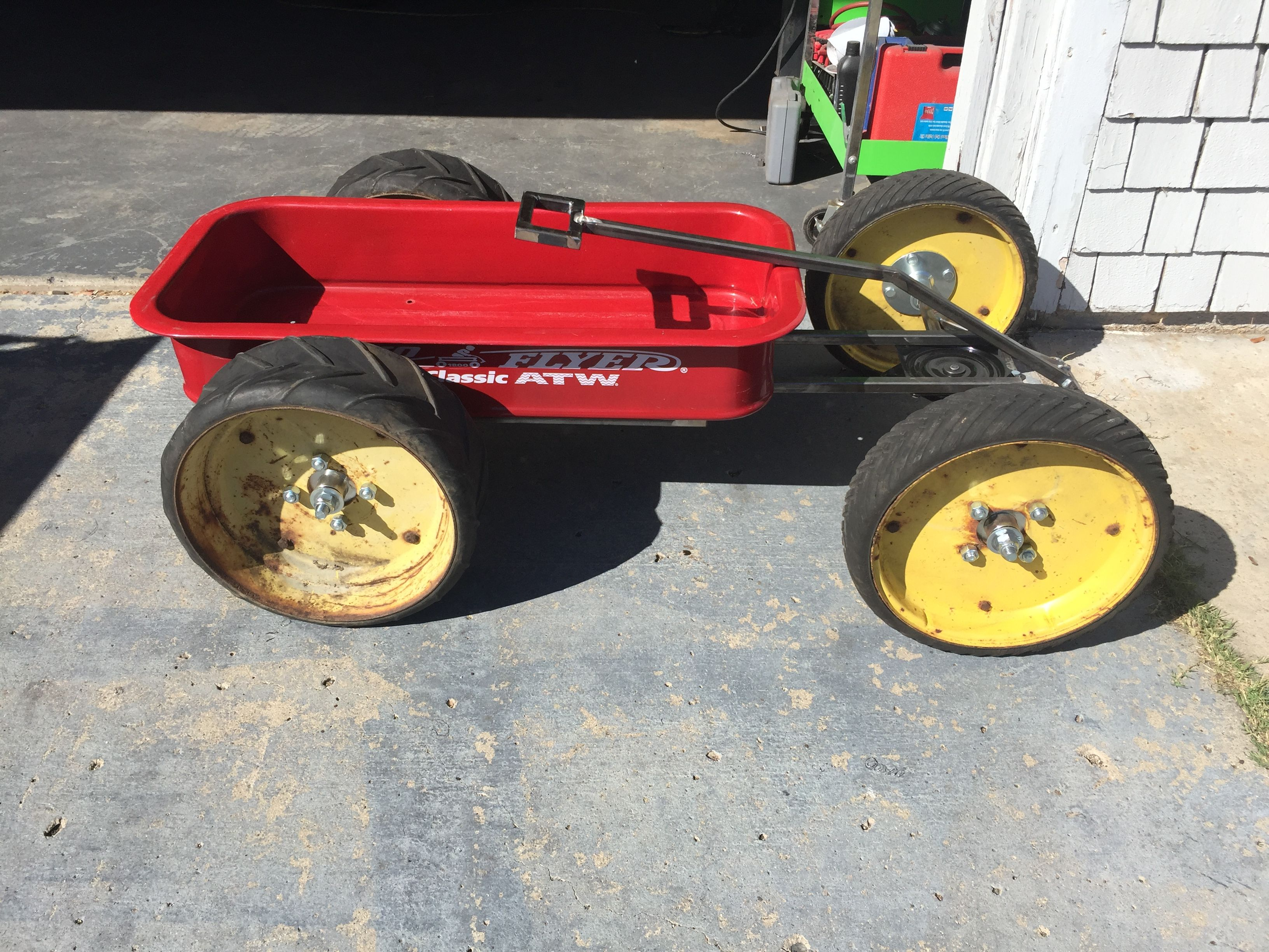 Upgrade The Wheels And Axles On The Radio Flyer Atw With Images