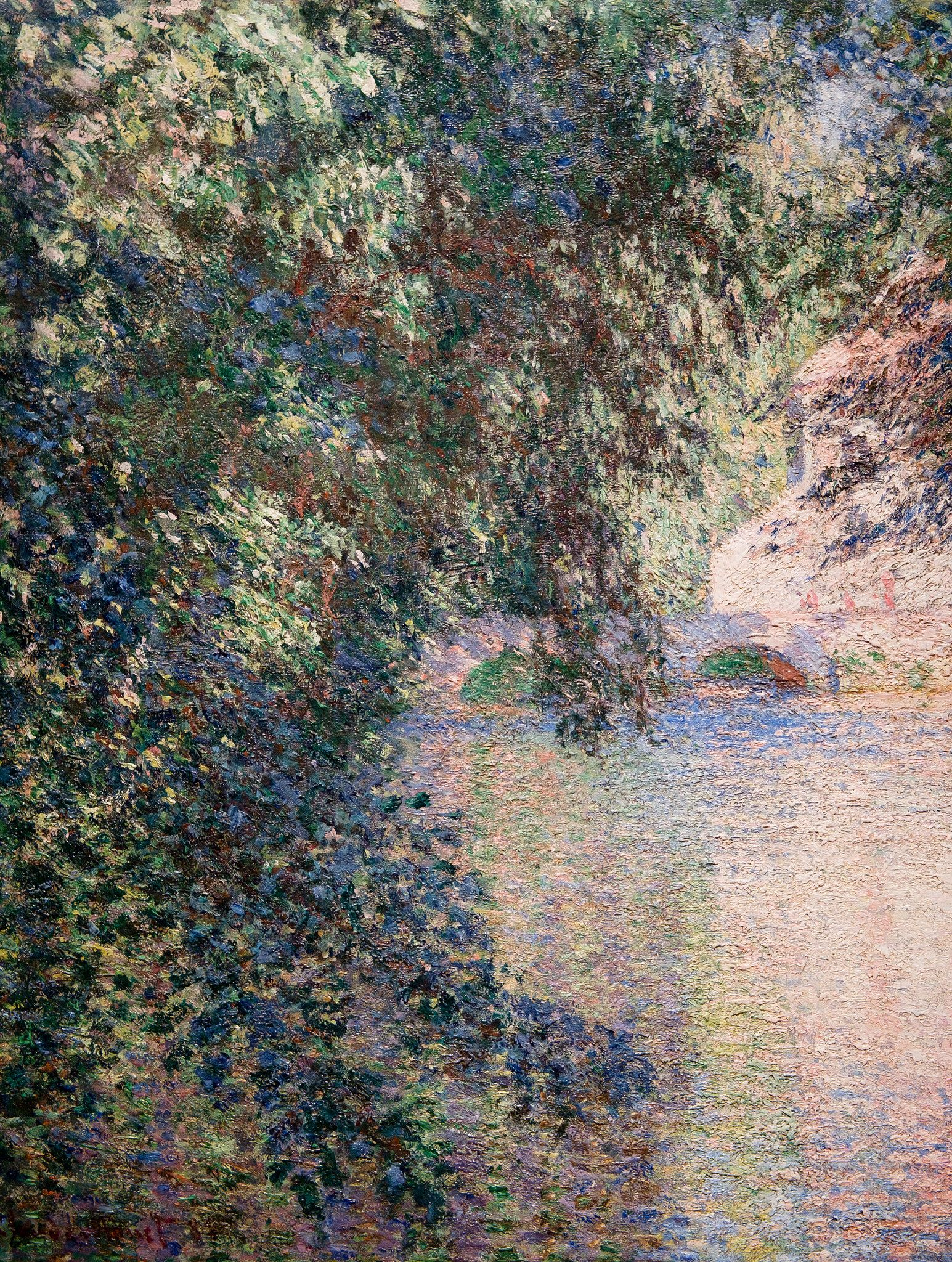 Claude Monet, Mill at Limetz, 1888 | Monet art, Claude monet paintings,  Claude monet art
