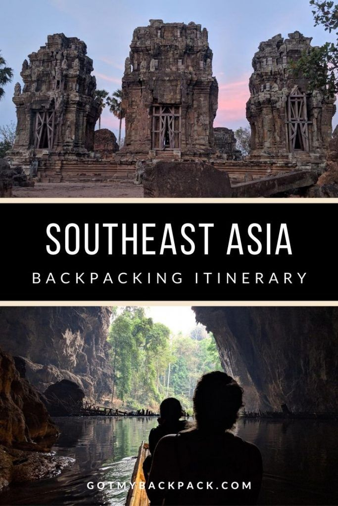 After spending 4 months backpacking in South East Asia, here is my travel itinerary and costs. My South East Asia route includes Thailand, Laos, Cambodia, Vietnam, Malaysia and Singapore. #SouthEastAsia #Travel #Itinerary