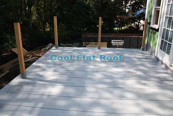 Flat Roof Decks and Patios