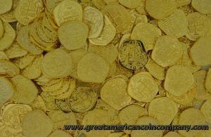Shiny Gold Doubloon Replicas - You Choose Quantity