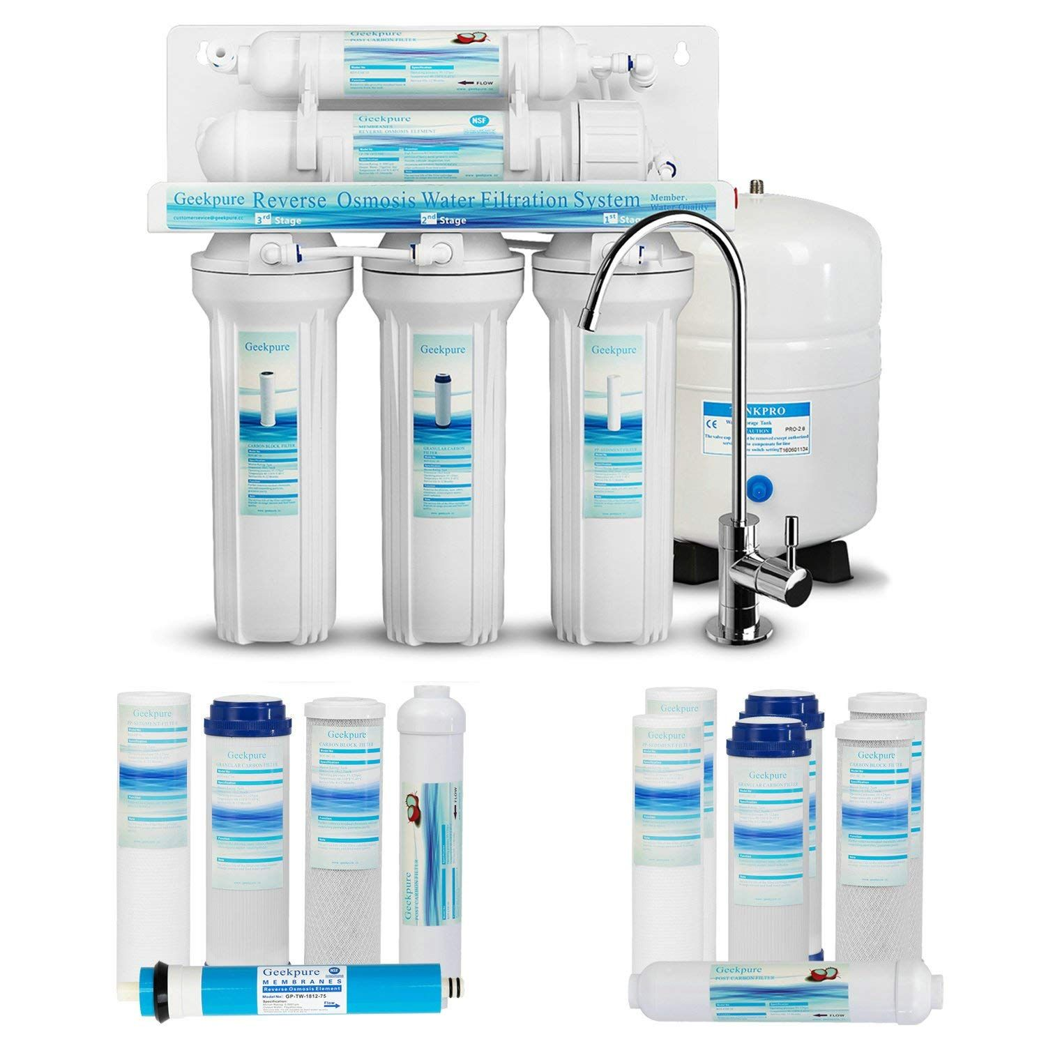 4 Best Reverse Osmosis System For Well Water Plus 1 To Avoid 2020 Buyers Guide Best Reverse Osmosis System Water Filters System Drinking Water Filter