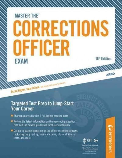 Job opportunities for corrections officers are expected to grow far