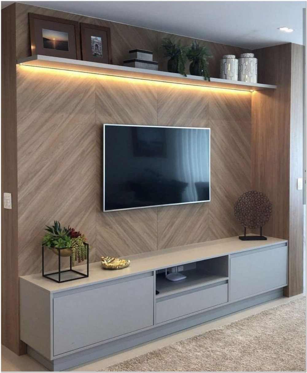 62 Best Ways To Decorate Around The Tv 9 In 2020 Tv Room De