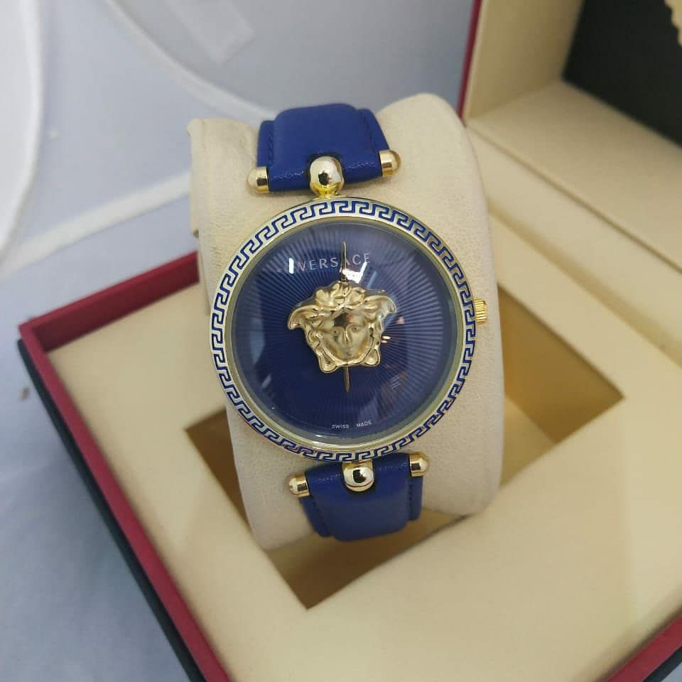 Insatgram نوع الساعة Versaci الصنف نسائية اللون أبيض أسود زهري أزرق رقم الكود 1031101 With Norm Michael Kors Watch Michael Kors Kors Watches