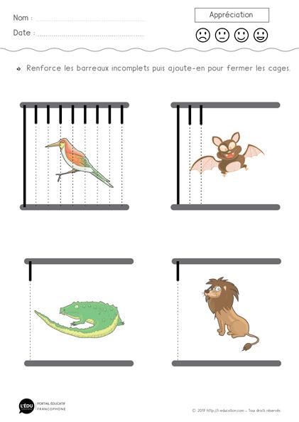 profiter de prix discount choisir le dernier comment avoir Graphisme lignes verticales PS MS - Les barreaux des cages ...