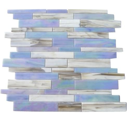 Splashback Tile Tectonic Harmony Green Quartz Slate And: Matchstix Kismet Glass Tile