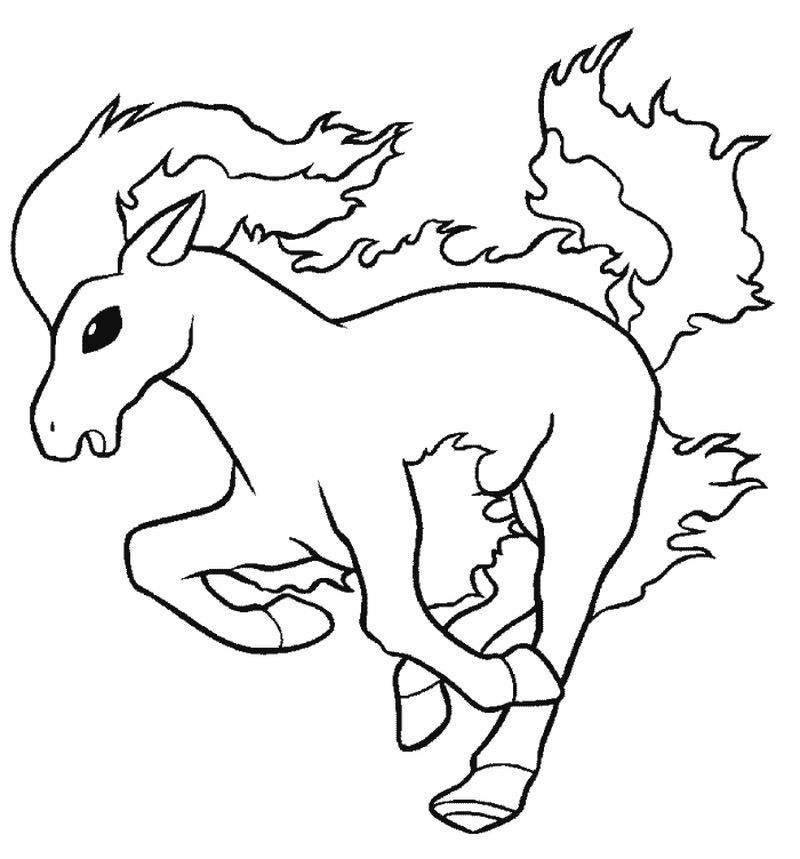 Nice Ponyta Pokemon Coloring Pages Find Out More Coloring Pages